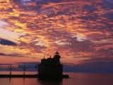 Sturgeon Bay Canal Pier Lighthouse  WI