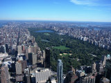 Aerial View of Central Park  NYC