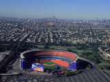 Shea Stadium  Aerial View  Ny Mets