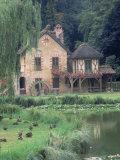 Marie Antoinette's Hamlet  Versailles  France