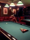 Racked Set of Balls  Boston Billiards  MA