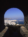 Archway from Town Castle  Mykonos  Greece