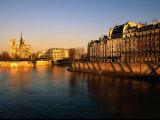 Morning Light on Notre Dame  Paris  France