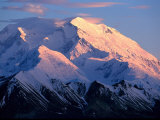Sunset at Mt Mckinley  Denali National Park  AK