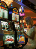 Gaming in a Casino  Las Vegas  NV