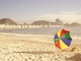 Copacabana Beach  Rio de Janeiro  Brazil