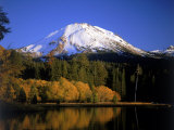Mt Lassen and Manzanita Lake  California