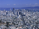View of San Francisco Cityscape  California