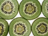 Cross Section of Kiwi Fruit