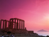 Greece  Sounion  Temple of Poseidon