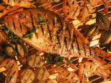 Grilled Fish and Shrimp