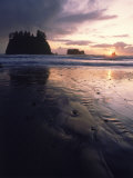 Beach at Sunset  La Push  WA