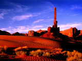 Totem Pole  Monument Valley  AZ