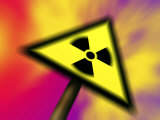 Radiation Sign  Computer Generated Image