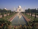 Taj Mahal & Gardens  Agra  India Uttar Pradesh