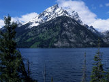 Mountain and Lake  Grand Teton National Park  WY