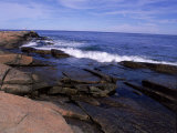 Atlantic Ocean  Halibut Point State Park  MA