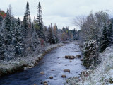 West Branch River  Adirondack Mountains  NY