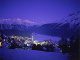 St Moritz at Night  Switzerland