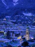 Innsbruck at Night  Austria
