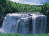 Waterfall  Letchworth State Park
