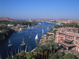 Nile and Old Cataract Hotel  Aswan  Egypt