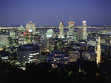 City Skyline  Montreal  Quebec  Canada