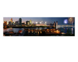 Cincinnati Riverfront Panorama