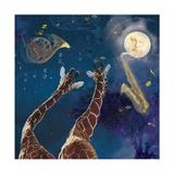 Heaven Blew Every Trumpet Reproduction d'art par Nancy Tillman