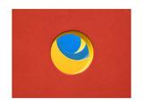 Red Yellow Blue Papier Photo par John Gusky