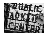 Market Sign Mono