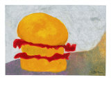 The Orange + Red Burger