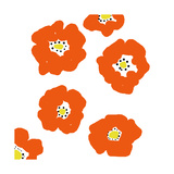 Orange Pop Flowers