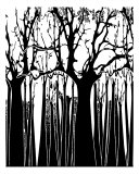 Black N White Trees