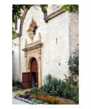 Church Door at Mission San Carlos