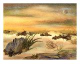 Desert - Pressed Flower Art
