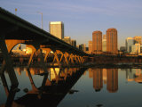 The Richmond  Virginia Skyline at Twilight