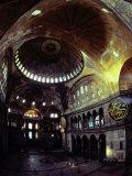 Interior Shot of Hagia Sophia