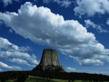 View of Devils Tower