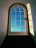 Sunlight Filters Through an Arched Window