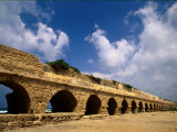 Remains of the Roman Aqueduct at Caesarea