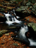 Scenic View of a Waterfall on Smith Creek