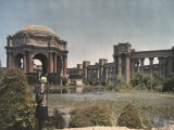 The Palace of Fine Arts was Built for the Panama-Pacific International Exposition in 1915