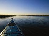 Kayakers Explore the Waterway Around Carrot Island