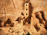 Ancient Anasazi Indian Cliff Dwellings