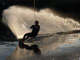 Wake-Boarder on Lake Nacimiento