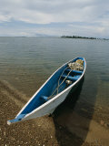 A Fishing Boat Beached on Kimii Island  in Lake Victoria