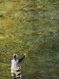 Fly-Fishing on the Wind River