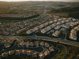 An Aerial View of a Housing Development in Orange County  California