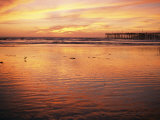 Pismo Beach and Pier at Sunset